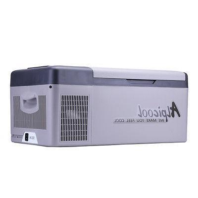 15L 12/24V Portable Camping Car Bar Mini Refrigerator Fr