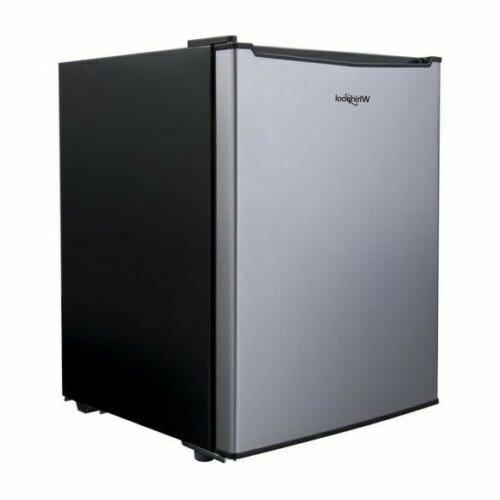 2 7 cu ft mini refrigerator stainless