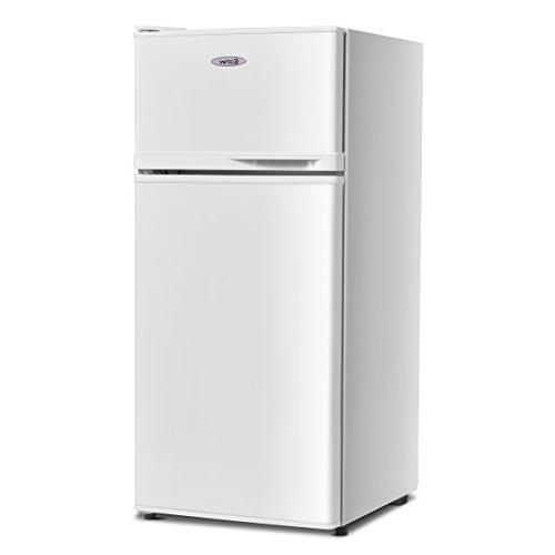 2 door compact mini refrigerator