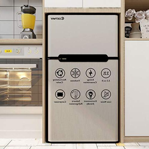 Costway 3.2 cu Freezer Cooler