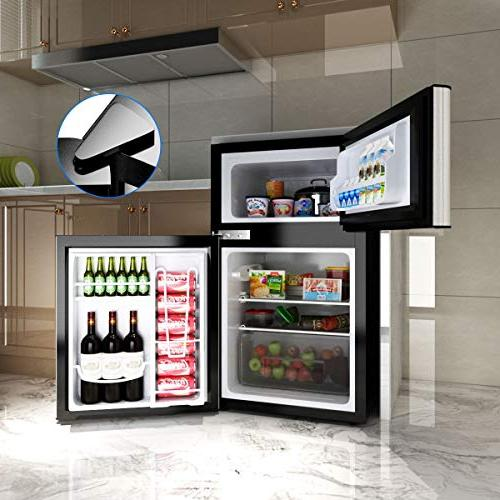 Costway Compact Refrigerator 3.2 cu ft. Freezer