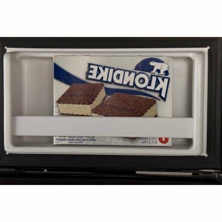 3.2 Cubic True-Freezer Refrigerator, Black