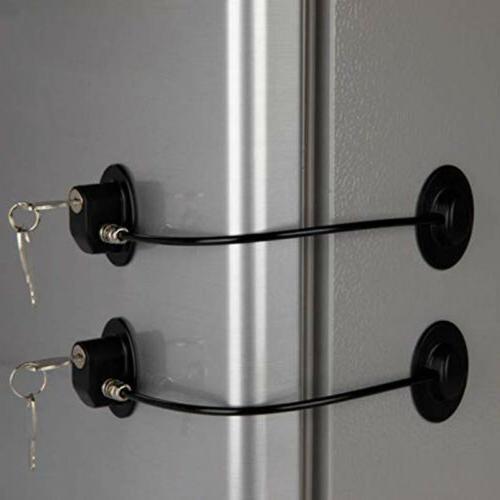 2pcs refrigerator child cabinet drawer safety mini