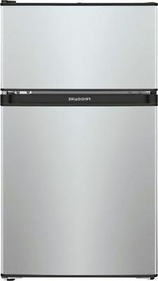 3 1 cu ft mini fridge silver