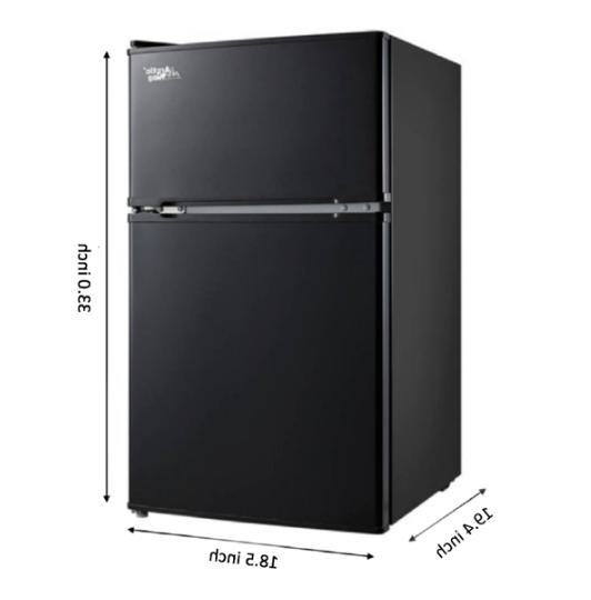 Fridge 2 Compact Stainless Steel New