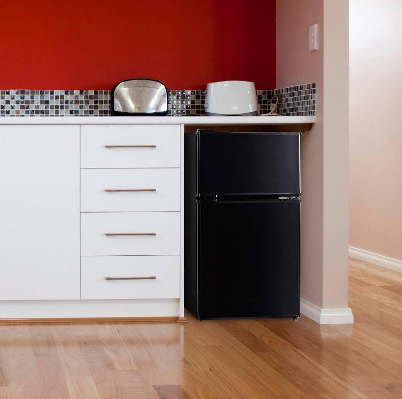 3.2 Cu Mini Fridge Freezer Compact Refrigerator New