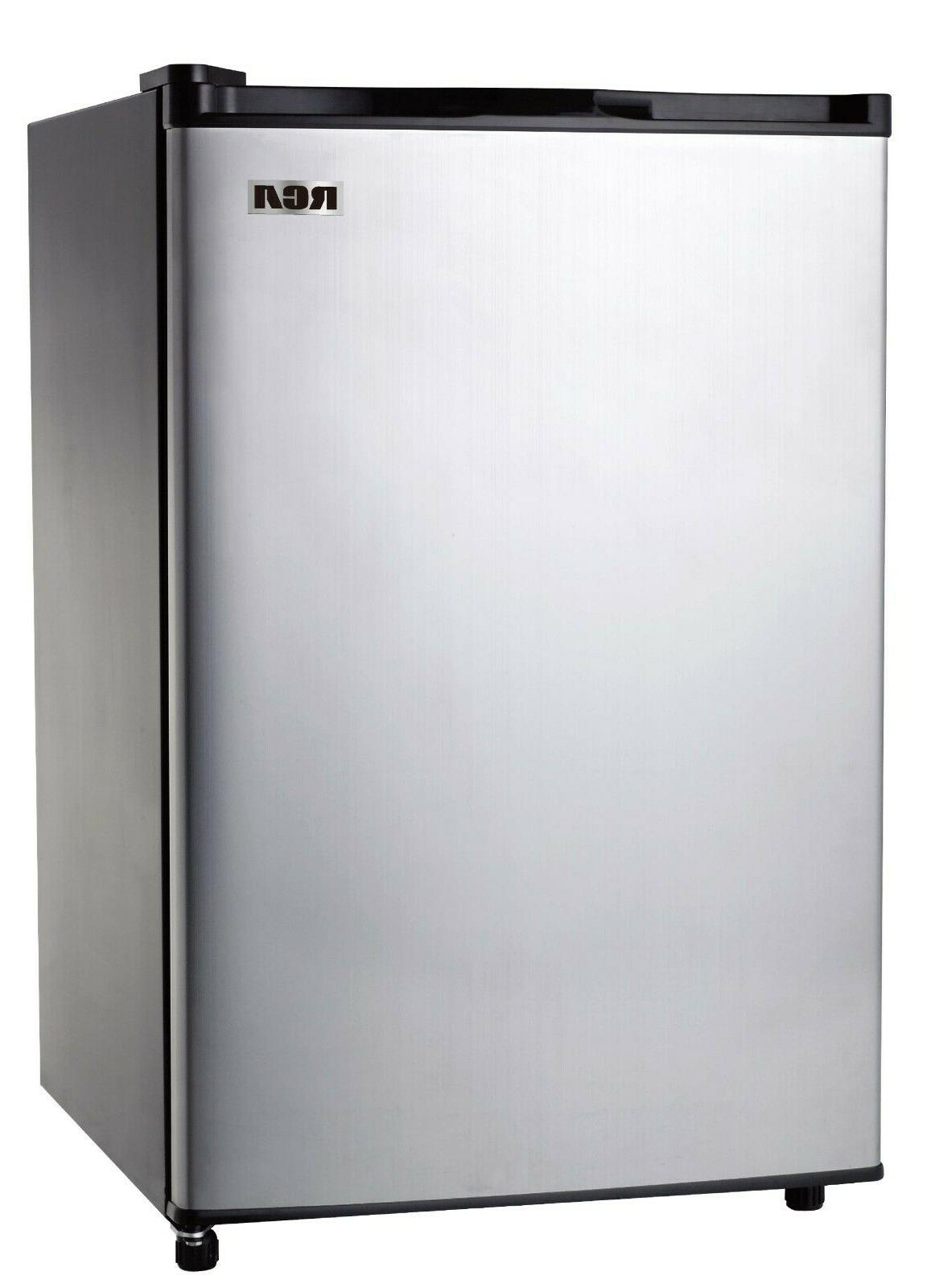 RCA ft. Mini Fridge Stainless Steel