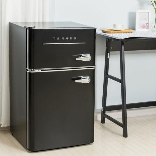 3.2 Cu.Ft Fridge 2-Door Compact Refrigerator