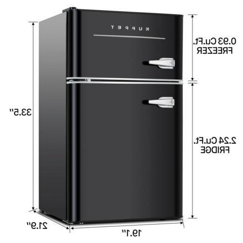 3.2 Cu.Ft Mini Fridge Compact Refrigerator Home
