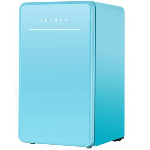 Mini Compact Retro Refrigerator Fridge Eco-friendly w/Chilli