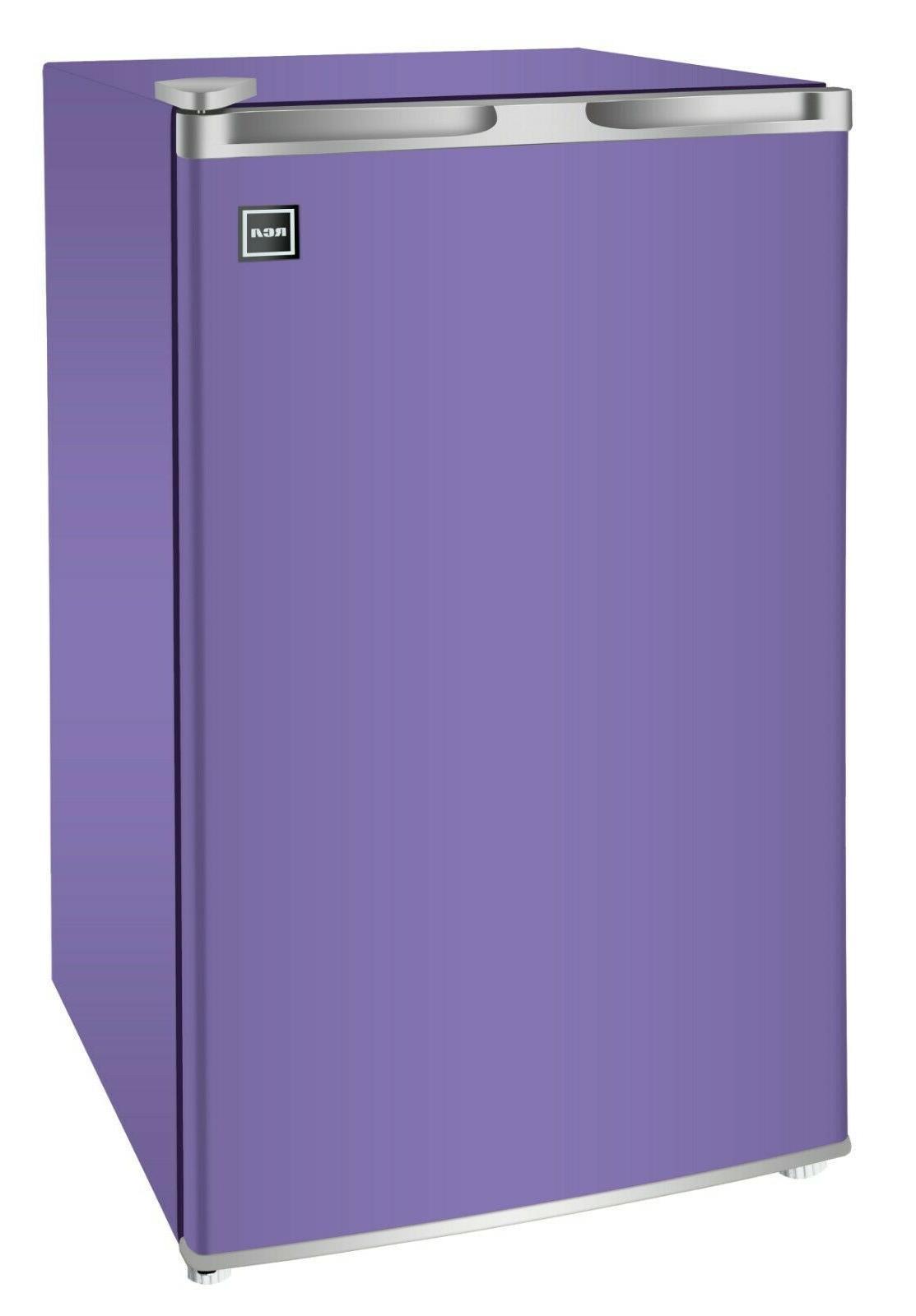 RCA 3.2 Cu Ft Single Door Purple Mini Fridge RFR320, Purple