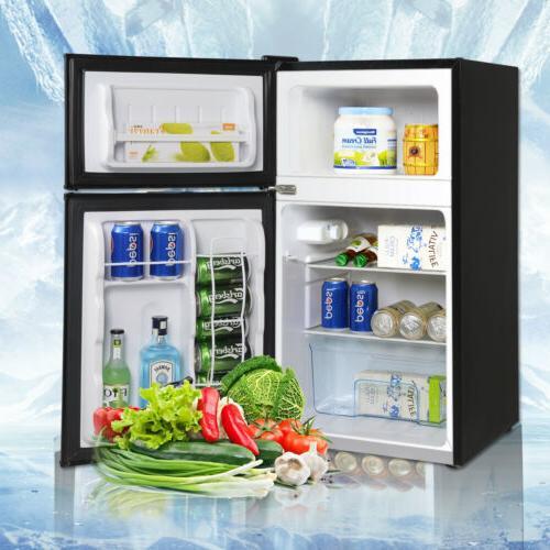 3.2 Cu Stainless Steel Mini Freezer Compact New