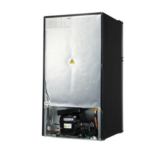 3.2 Steel 2-Door Mini Freezer
