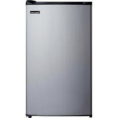 3 5cf stainless refrigerator