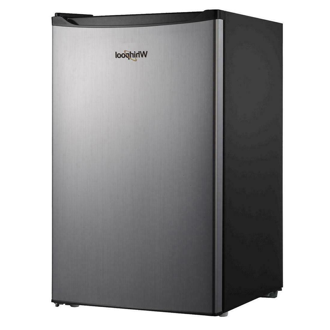 Whirlpool 4.3 cu ft Compact Mini Fridge Freezer Refrigerator