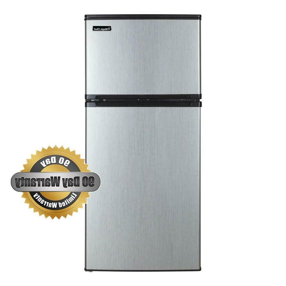 4 3 cu ft mini refrigerator in