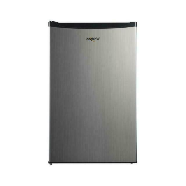 4 3 cu ft mini refrigerator stainless