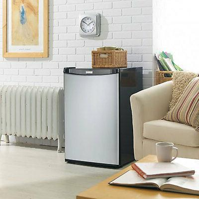 Danby Compact Freezer, Stainless Steel