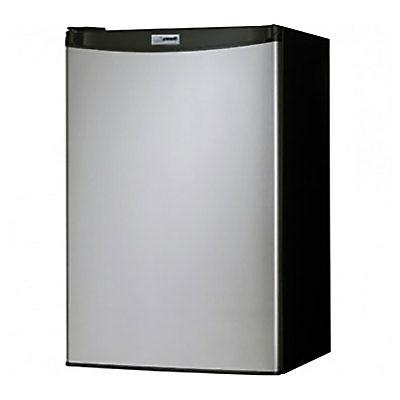 Danby Cubic Feet Compact Refrigerator Freezer, Steel