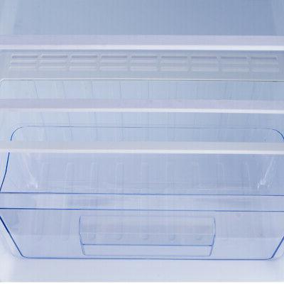 4.5 cu. ft. Mini Fridge Compact Refrigerator Dorm Studio Stainless