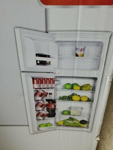 4 5 cu ft two door refrigerator