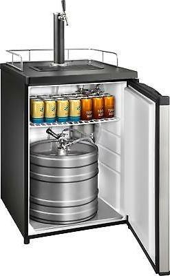 Insignia- 5.6 1-Tap Cooler - steel