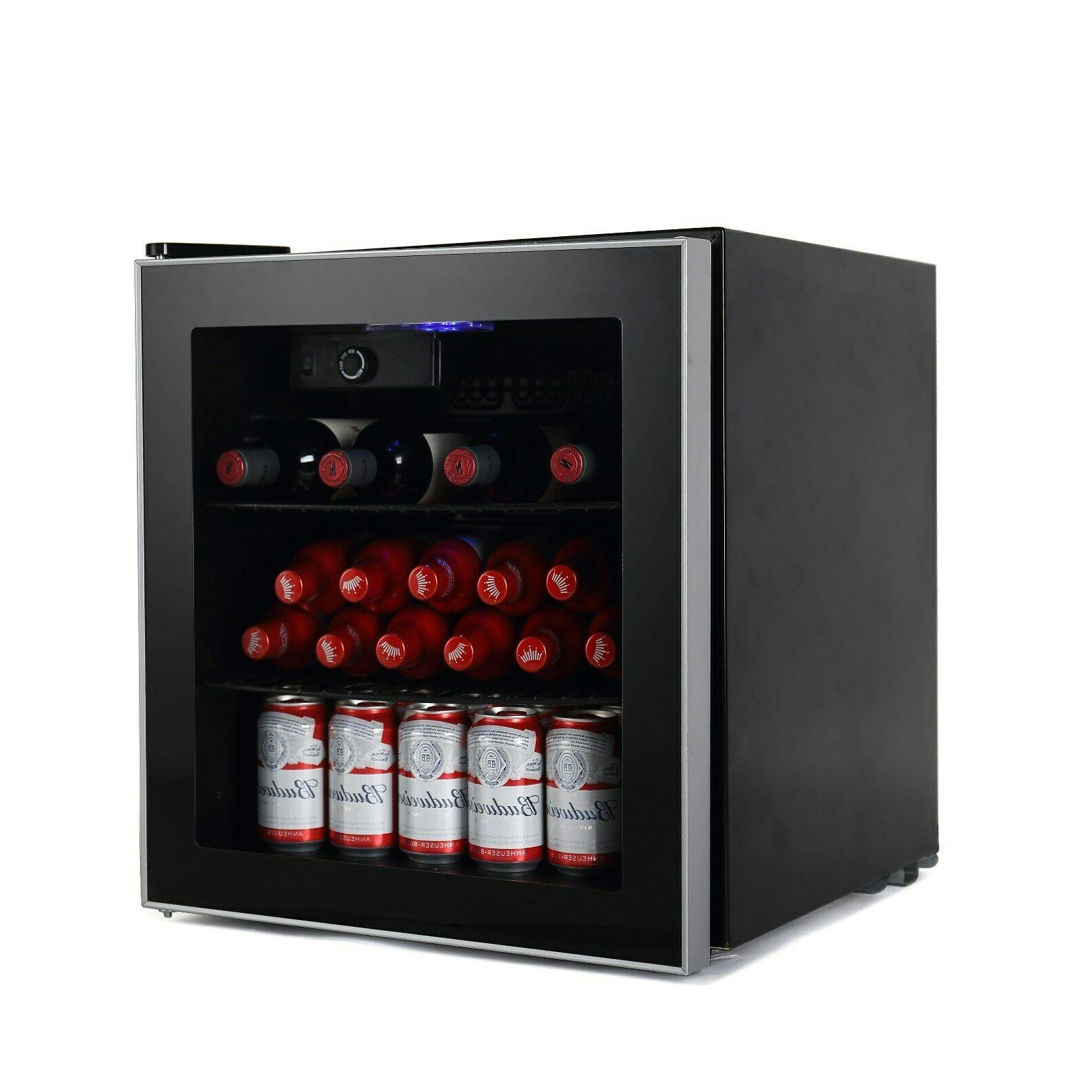 60 Can Mini Refrigerator Wine Cooler