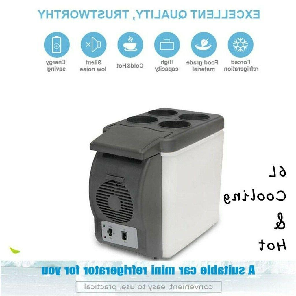 Portable Electric Car Mini Fridge Refrigerator Cooler Warmer