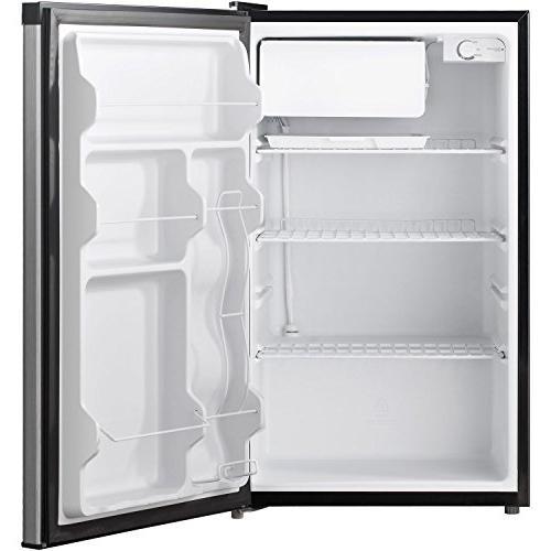 Keystone KSTRC44CW Compact Single-Door Refrigerator with Freezer ...