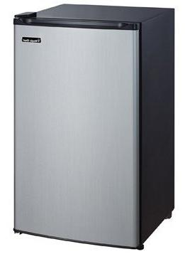 Magic Chef 3.5 Cu. Ft. Mini Refrigerator, Stainless
