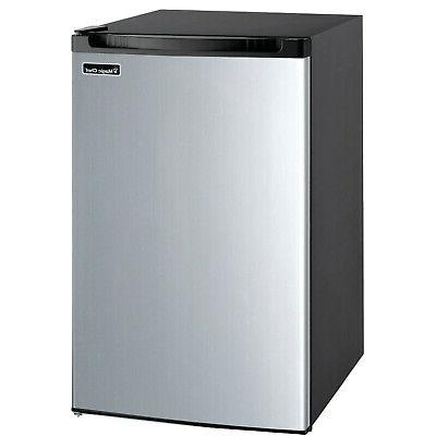 Magic Chef MCBR440S2 Refrigerator, 4.4 cu. ft, Stainless Ste