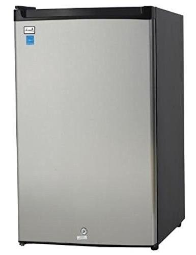 ar4456ss counterhigh refrigerator black stainless