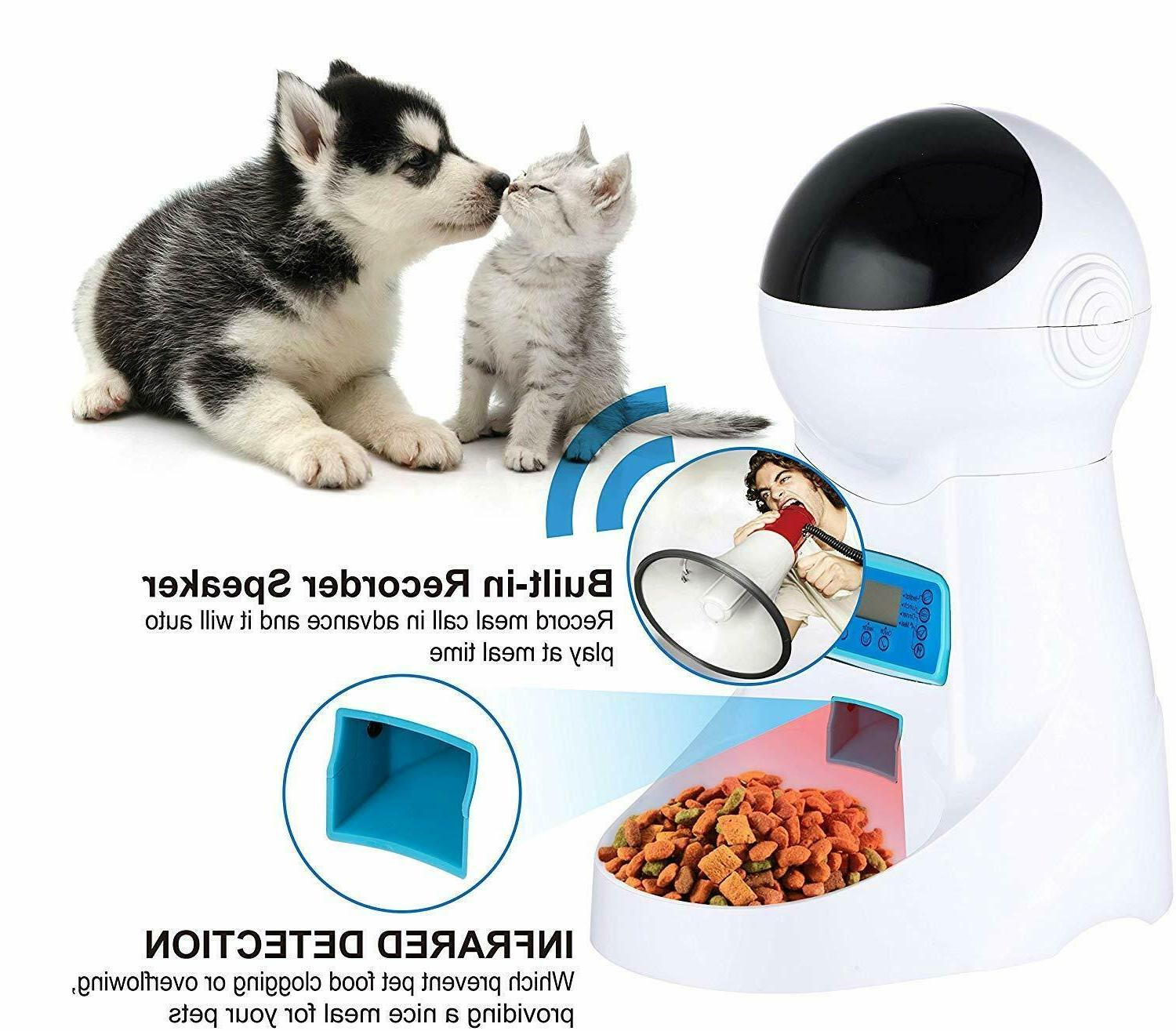 Automatic Feeder Cat Bowl