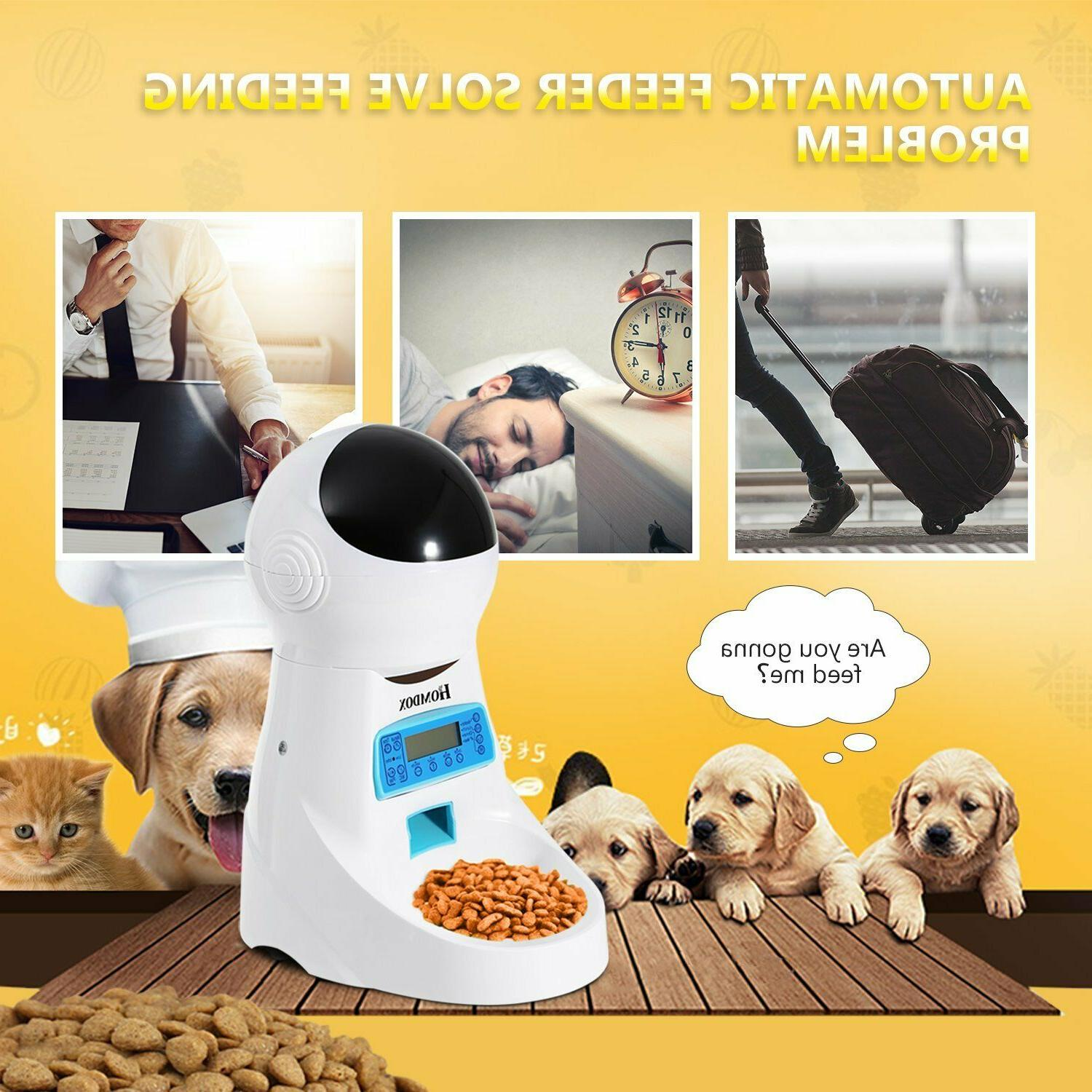 Automatic Cat Bowl Timed Auto