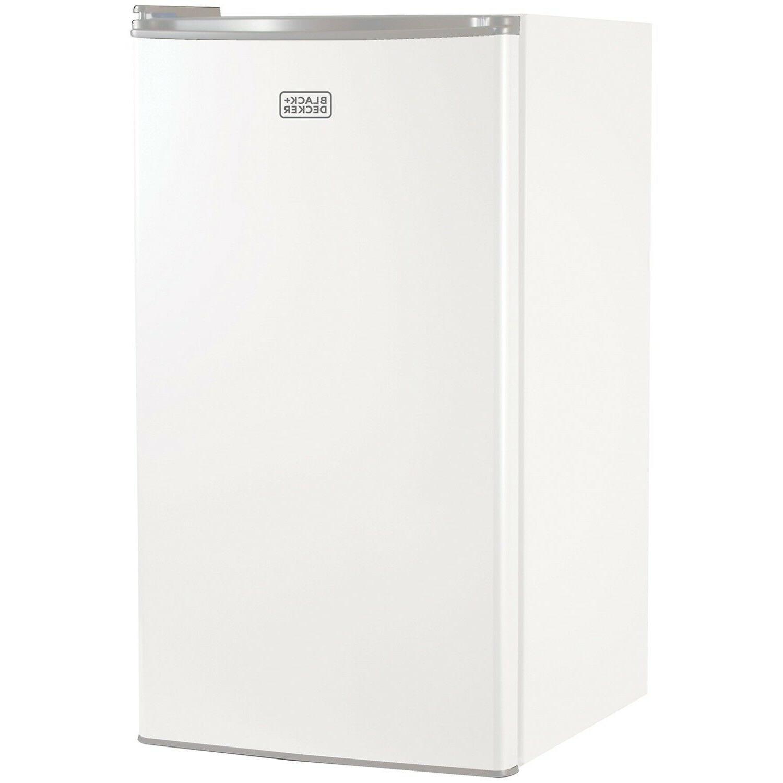 BLACK+DECKER BCRK32W Compact Refrigerator Energy Star Single
