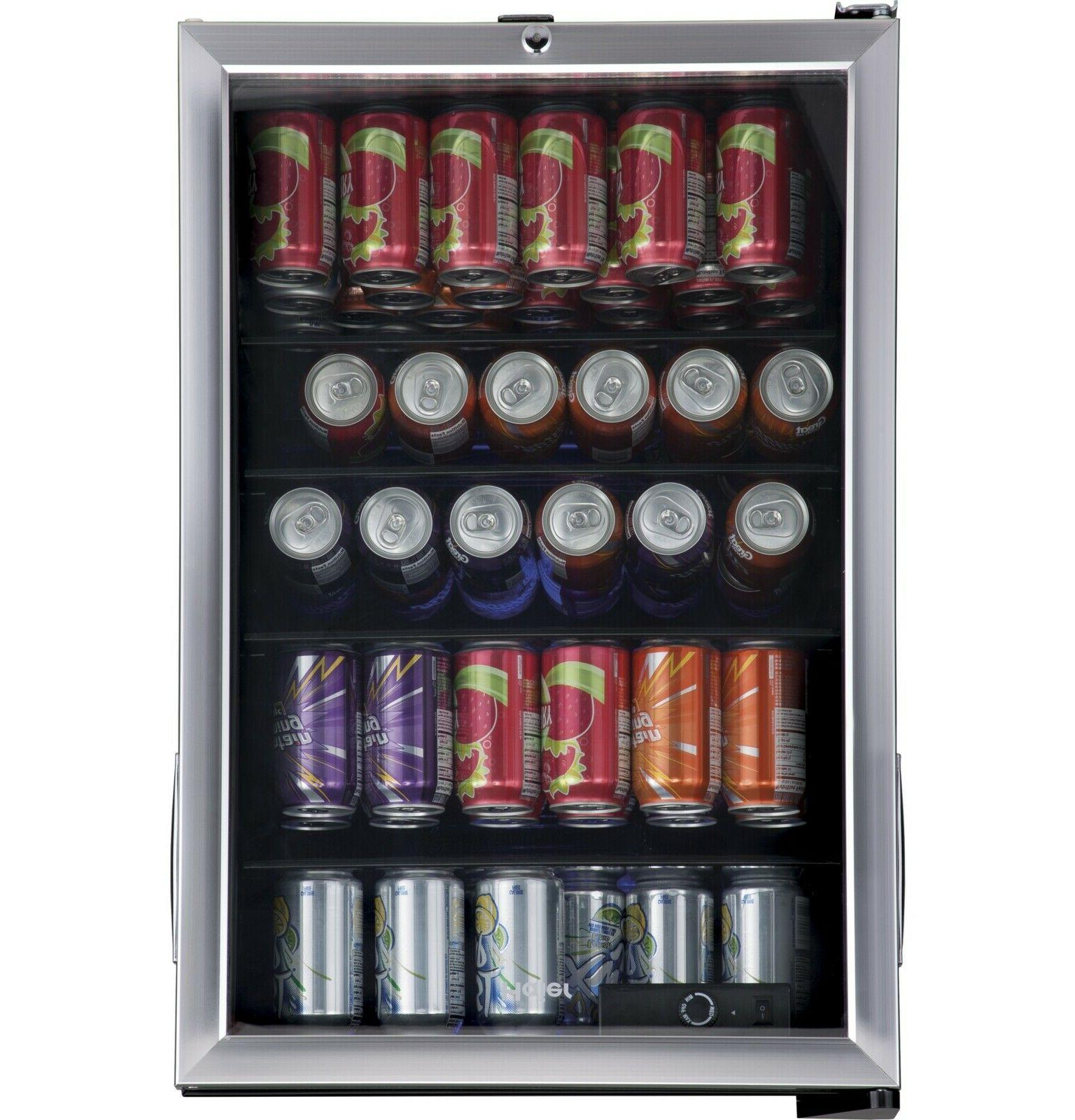 beverage cooler refrigerator 150 can mini fridge
