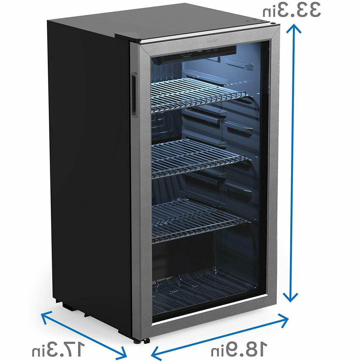 hOmeLabs Beverage Mini Fridge Door