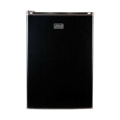 black and decker compact fridge black
