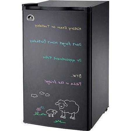 black eraser board refrigerator