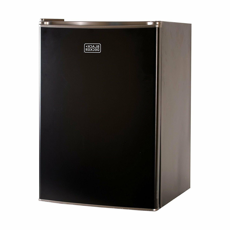 black n decker mini compact fridge single