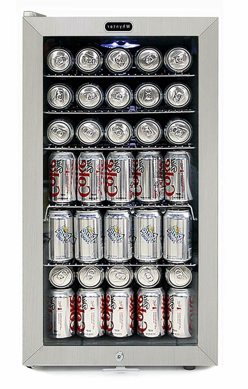 Beverage Refrigerator White