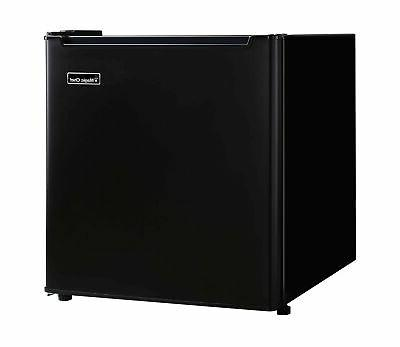 Brand 1.7 Cu. Ft. Refrigerator with Chiller Compartment Black