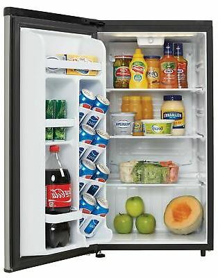 Brand 3.3 ft. All Refrigerator, Black