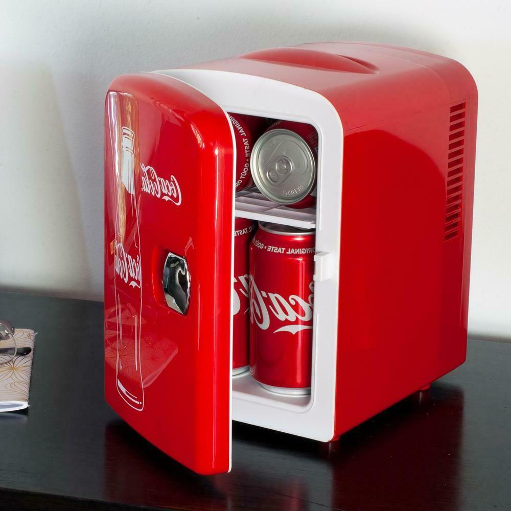 Coca-Cola Classic cu. ft. Mini Fridge in without