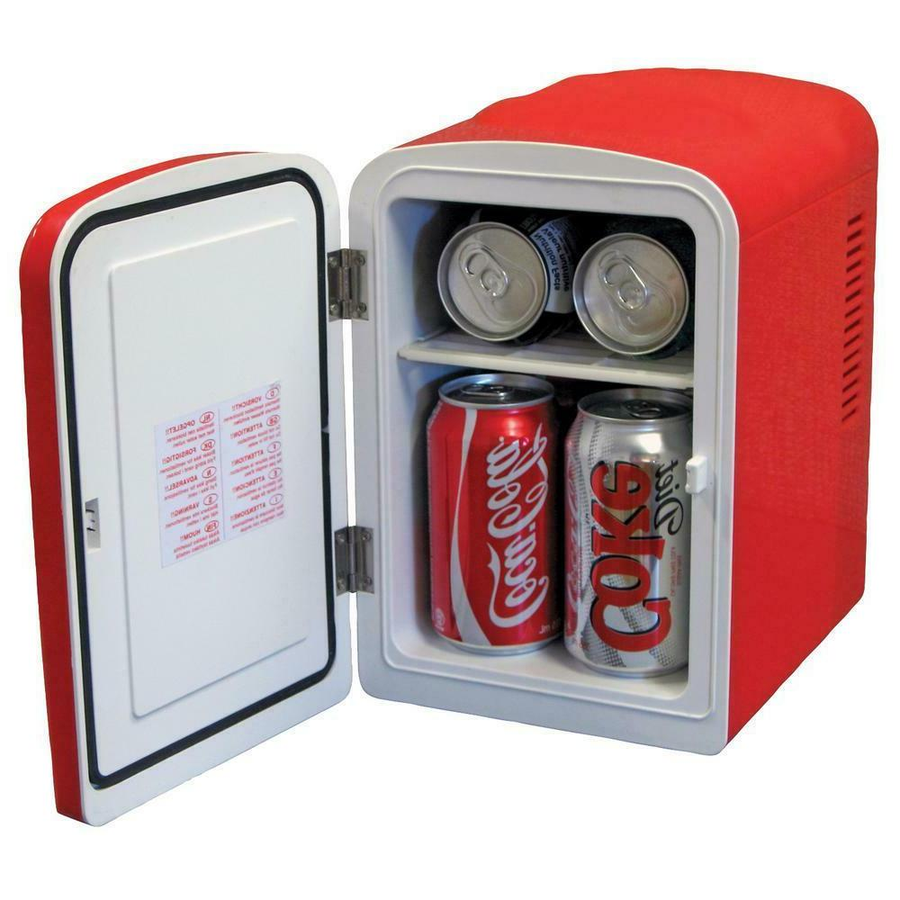 Coca-Cola ft. 6 Can Mini Fridge in without