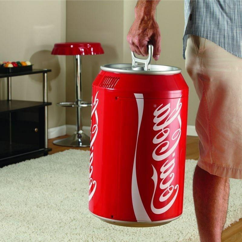 Compact Coca-Cola Can Mini Coke Soda