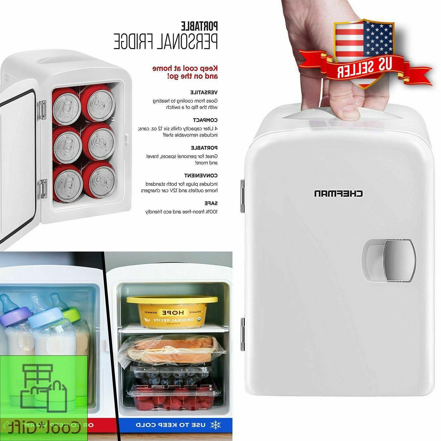 compact fridge refrigerator cooler warmer 12v portable