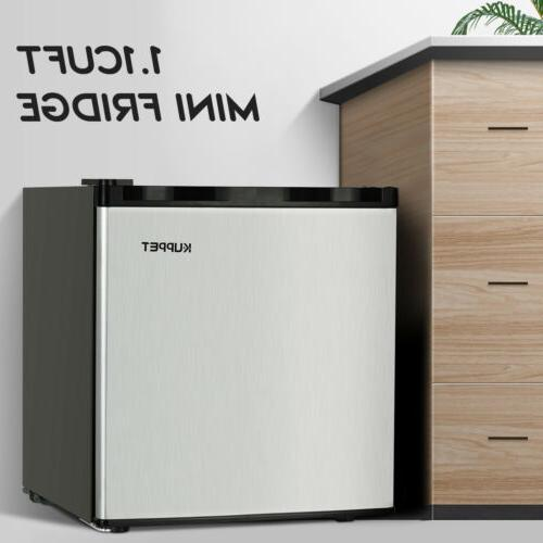 Compact Freezer Fridge Small Steel CuFt