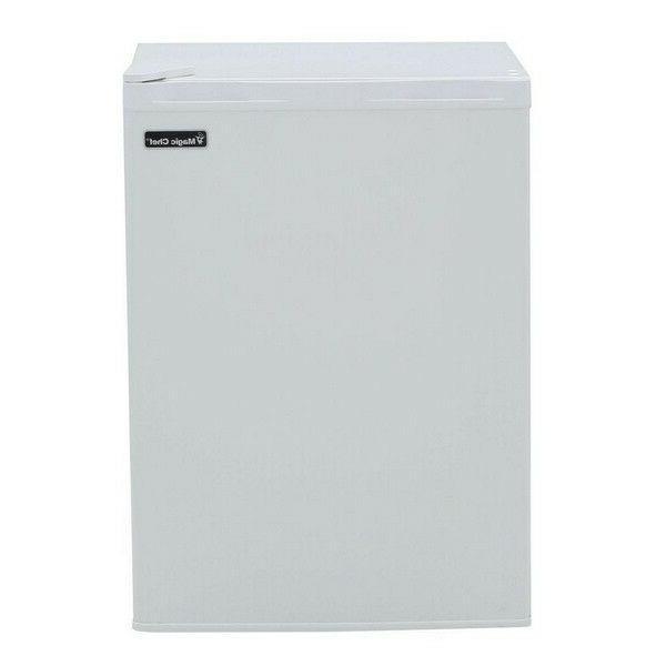 compact mini refrigerator fridge white