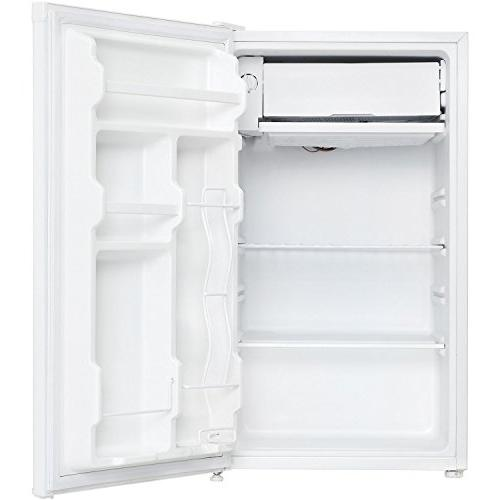 Compact Refrigerator, White